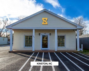 Exterior time financing service office in Kinston, NC