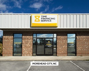 Exterior time financing service office in Morehead City, NC