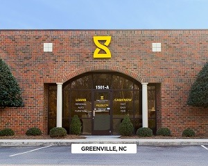 Exterior time financing service office in Greenville, NC
