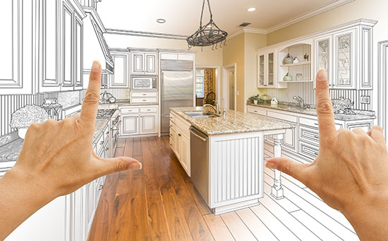 Kitchen renovation layout design