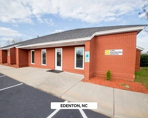 Exterior of Time Financing Service office in Edenton, NC