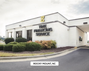 Front of Time Financing Service Rocky Mount, NC