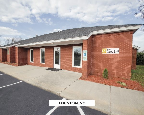 Exterior of Time Financing Service in Edenton, NC