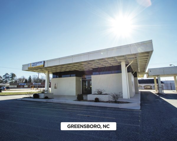 Exterior of Time Financing Service in Greensboro, NC