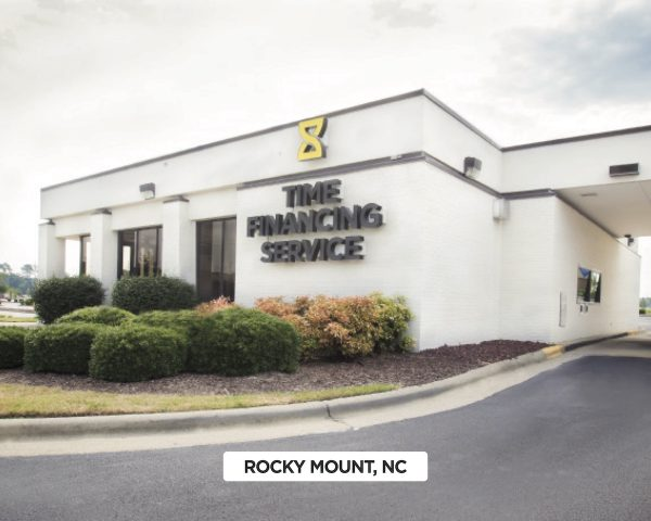Exterior of Time Financing Service in Rocky Mount, NC