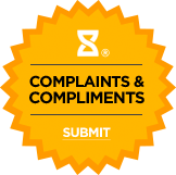 Submit Complaints & Compliments